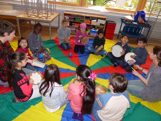 Patenschaften Musikunterricht - Musikalische Früherziehung