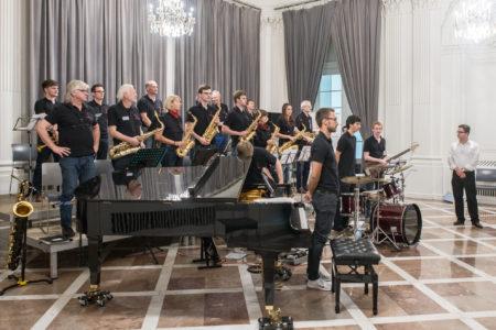 Big Band Soundbridge der Freien Musikschule music loft im Ballsaal Altes Kurhaus Aachen