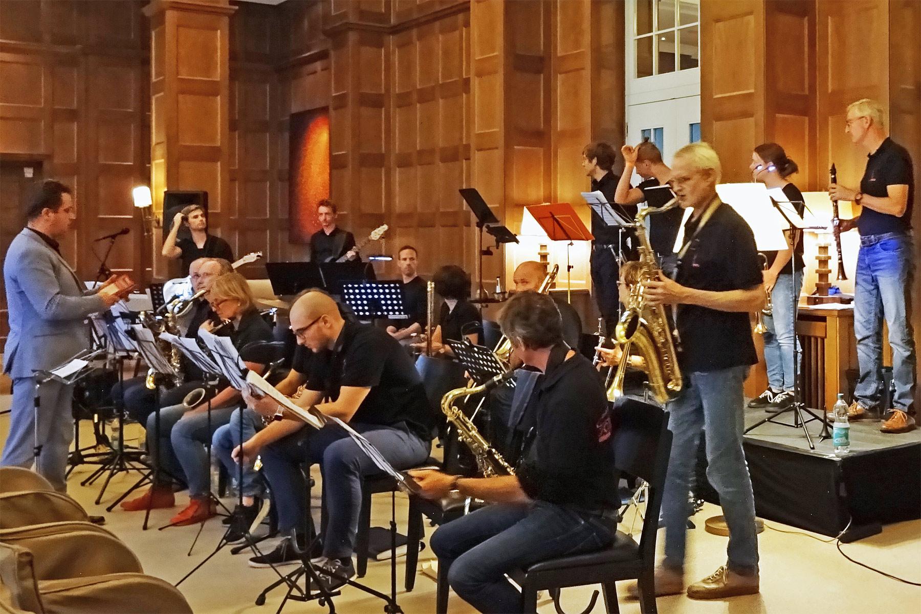 Big Band Soundbridge im Quellenhof Aachen - music loft | Freie Musikschule Aachen