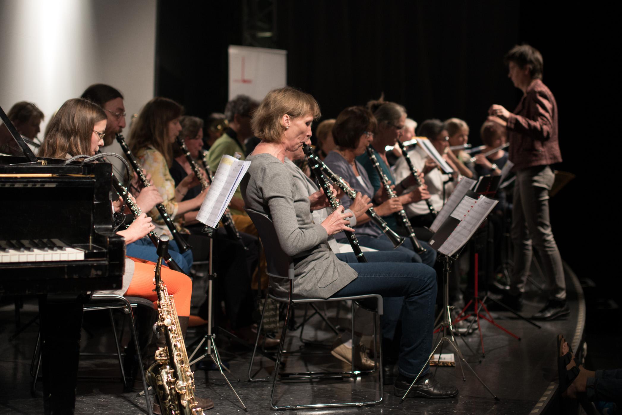 Anti Aging Bläserensemble music loft | Freie Musikschule Aachen