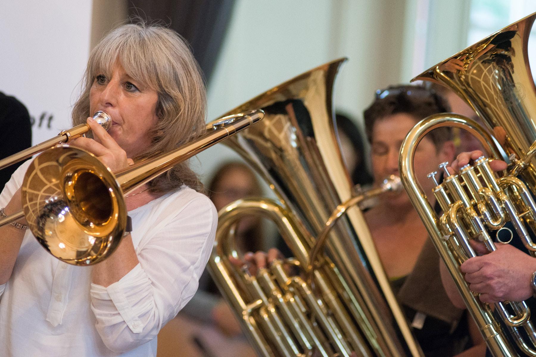 Anti-Aging Bläserensemble - Posaune und Tuba - music loft | Freie Musikschule Aachen