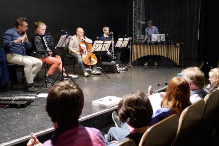 Kompositionswerkstatt 2019 Generalprobe Klangbrücke - music loft | Freie Musikschule Aachen