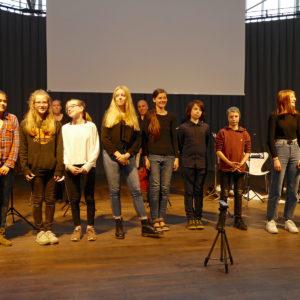Kompositionswerkstatt 2019 Teilnehmer Abschlusskonzert Ludwig Forum - music loft
