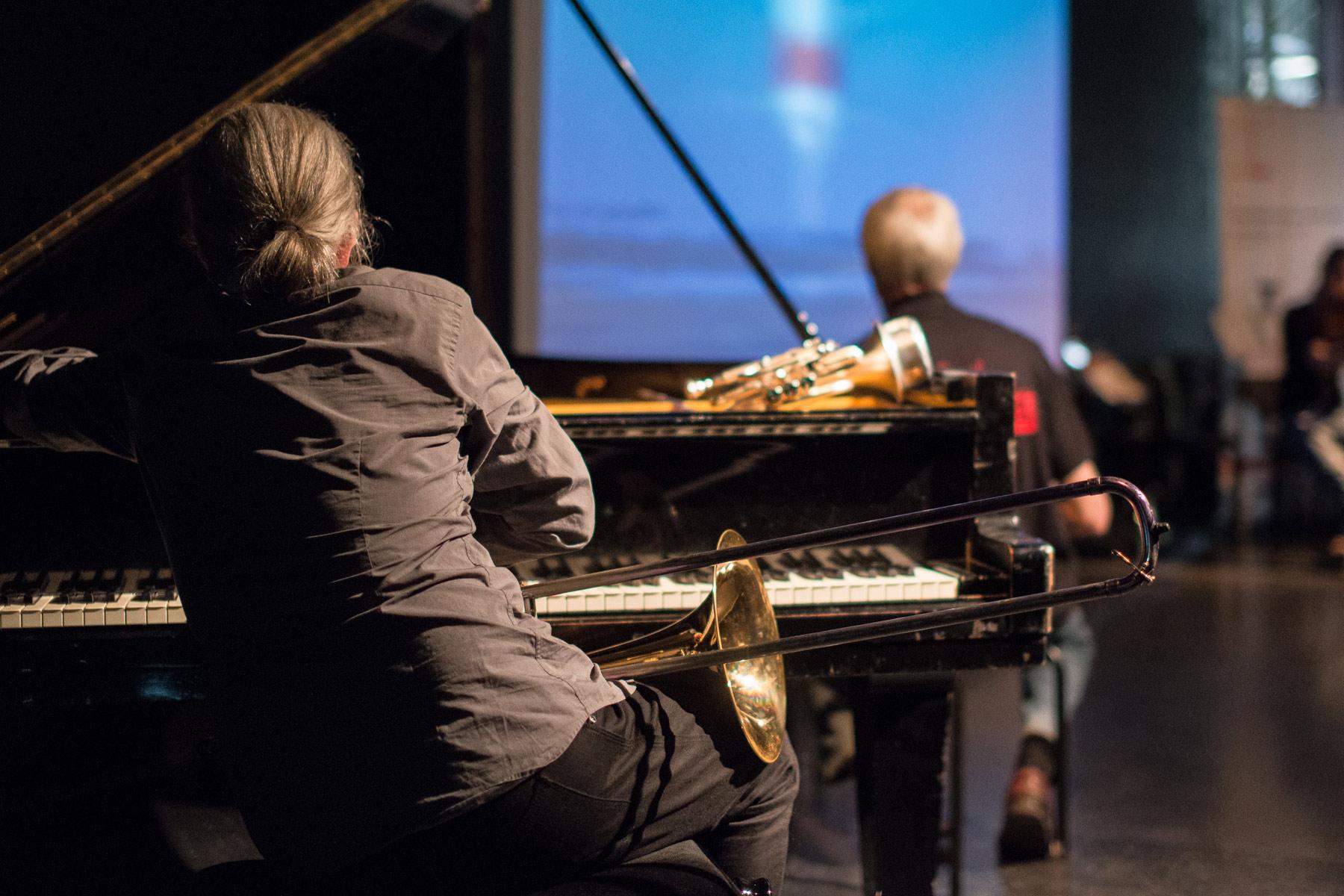 Ludger Singer Jazz Piano Posaune Improvisation - music loft | Freie Musikschule Aachen