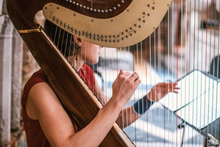 Harfe Harfenunterricht - music loft | Freie Musikschule Aachen