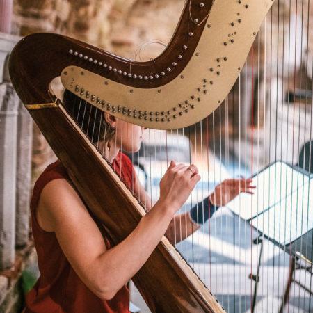 Harfe Unterricht - music loft | Freie Musikschule Aachen