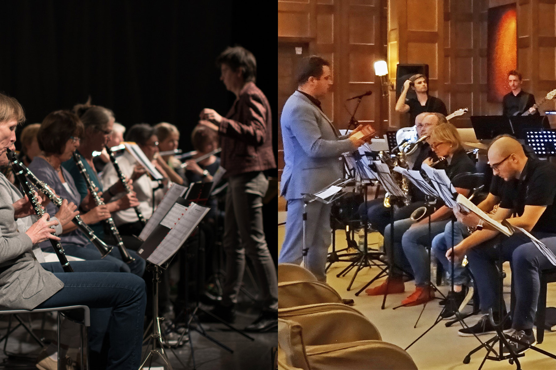Anti-Aging Bläserensemble Windensemble Big Band Soundbridge - music loft | Freie Musikschule Aachen
