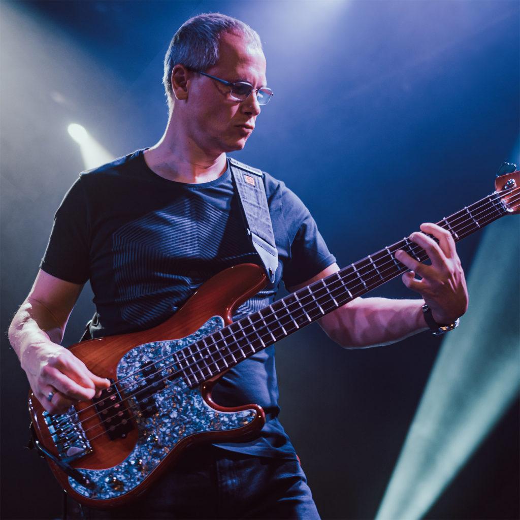 Markus Proske Dozent E-Bass - live auf der Bühne
