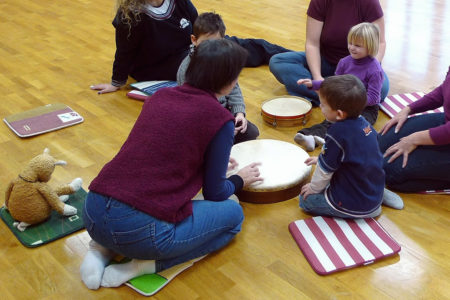 Musikalische Früherziehung Spielkreis - music loft | Freie Musikschule Aachen