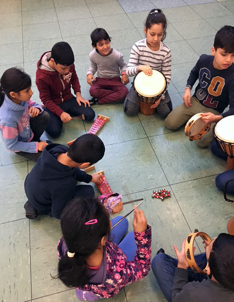 Integrationsprojekt 2020 - GEMEINSAM: Singen Bewegen Musizieren - music loft | Freie Musikschule Aachen